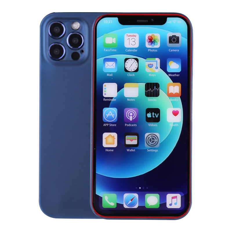 PC Frosted Back Cover Ultra Thin Gard Case for iPhone 12 Pro - Blue