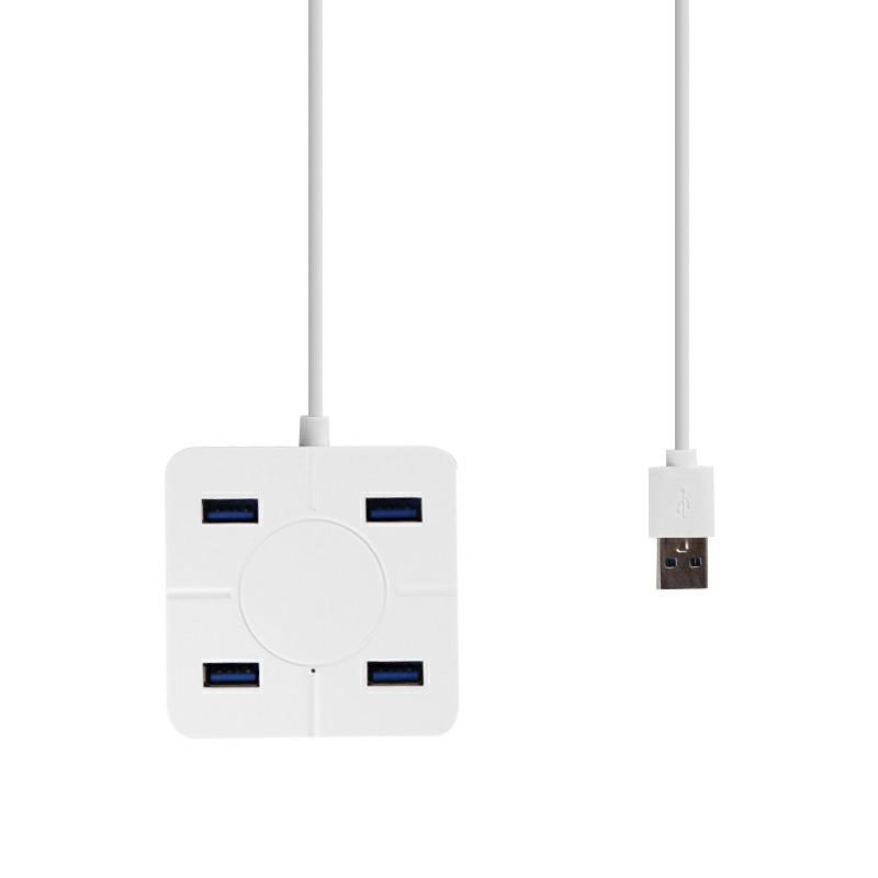 Hi-speed Hub Adapter USB Hub Mini USB 2.0 4-Port Splitter