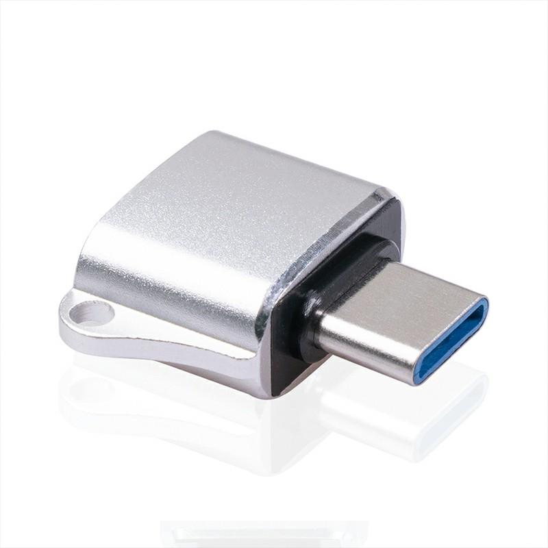 USB Type C OTG Adapter Type-C To USB Converter - Silver