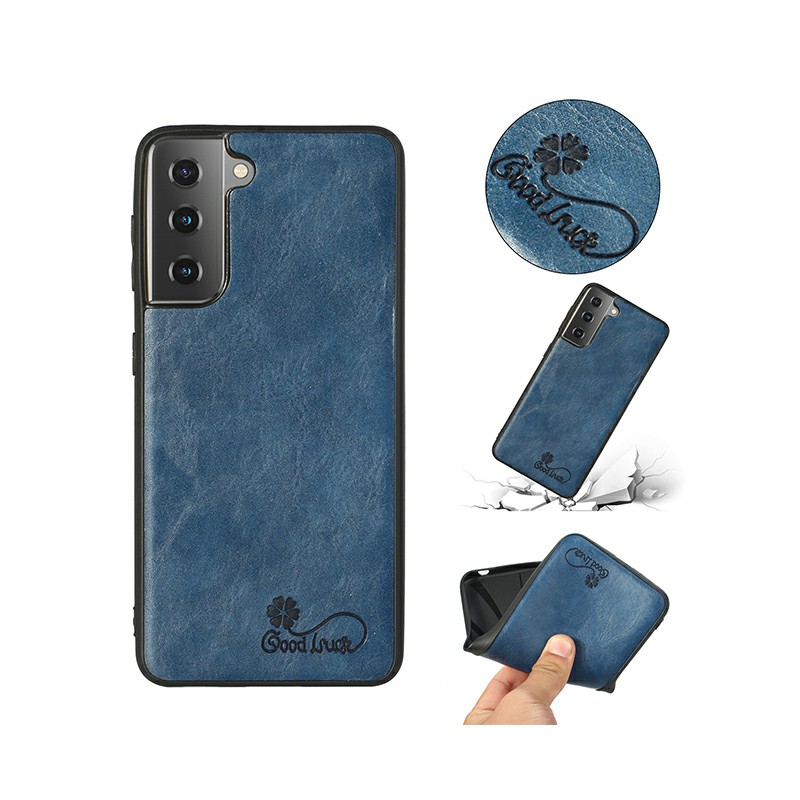 Slim Silicone TPU Protective Case for Samsung Galaxy S21 Plus - Blue