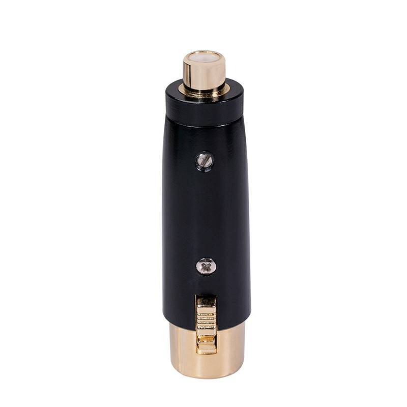 XLR 3 pin to RCA Male Adapter Audio Adapter