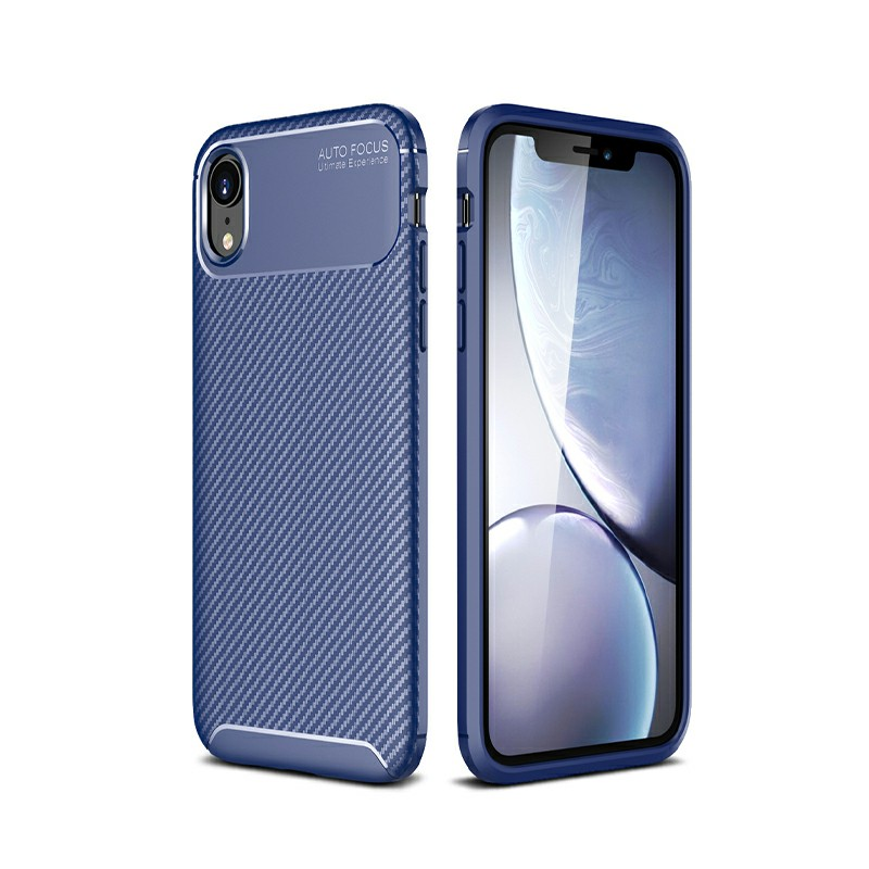 Rugged Armor PC Combination Case for iPhone XR - Blue