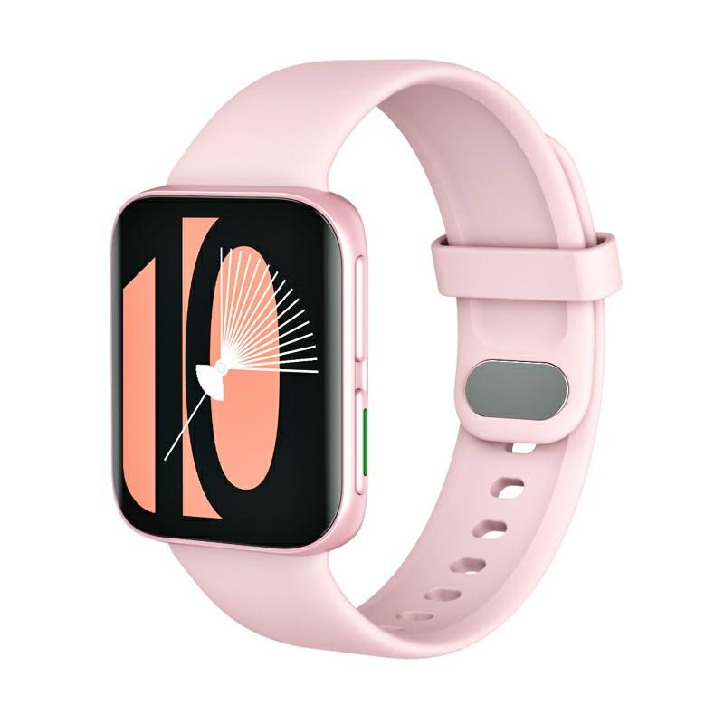 GT9 Smart WatchFitness Tracker IPS Calories Heart Rate Sleep Monitor Wrist Band - Pink