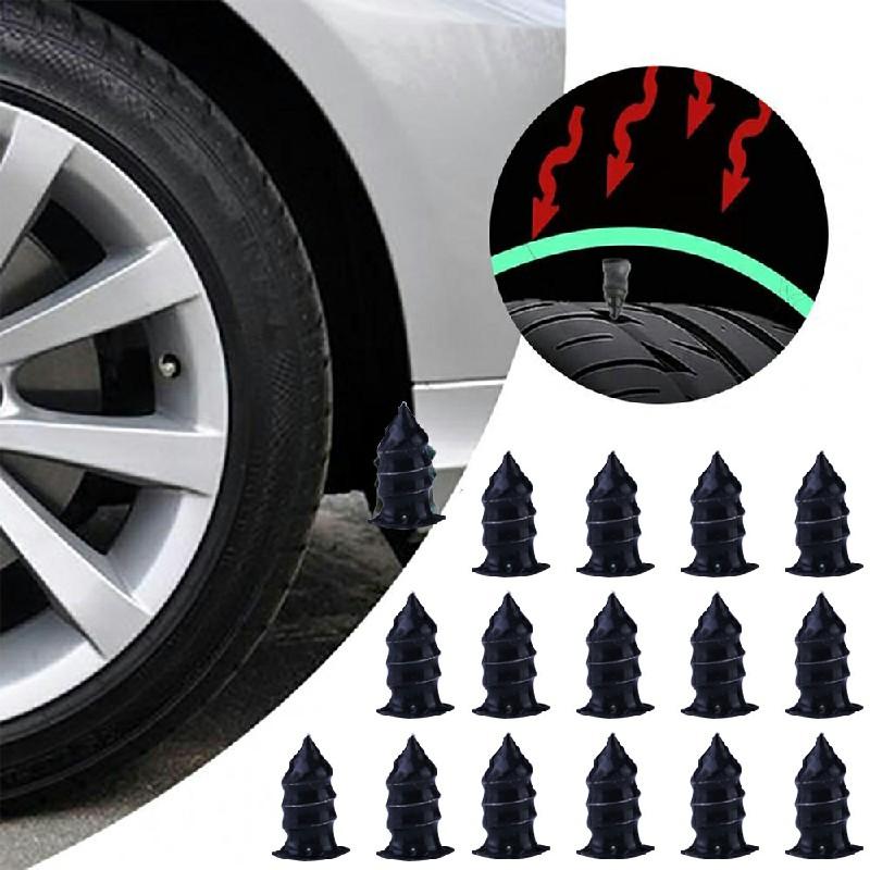 20 pcs Car Vacuum Tire Repair Tubeless Tire Repair Rubber Nails - L